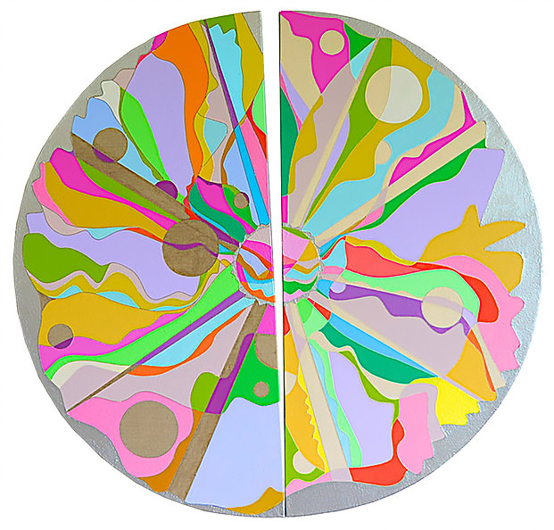 Transformation - A Circle of Joy. 300DPI BEST for 2017 Art Calendar Amsterdam Whitney Gallery