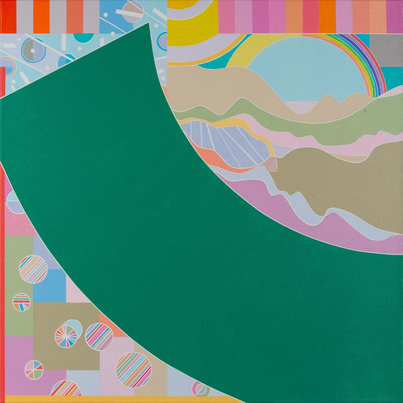 Ai-Wen-Wu-Kratz.Five-Sonnets.No.1.-24x24-in.Acrylic-on-canvas.2021