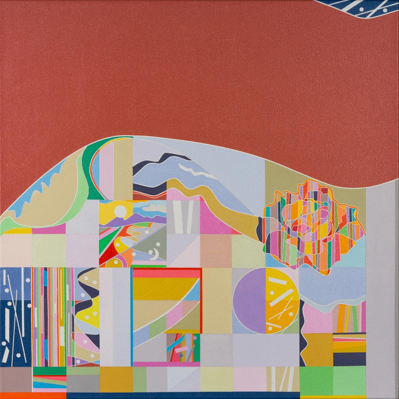 Ai-Wen-Wu-Kratz.Five-Sonnets.No.2.-24x24-in.-Acrylic-on-canvas.2021