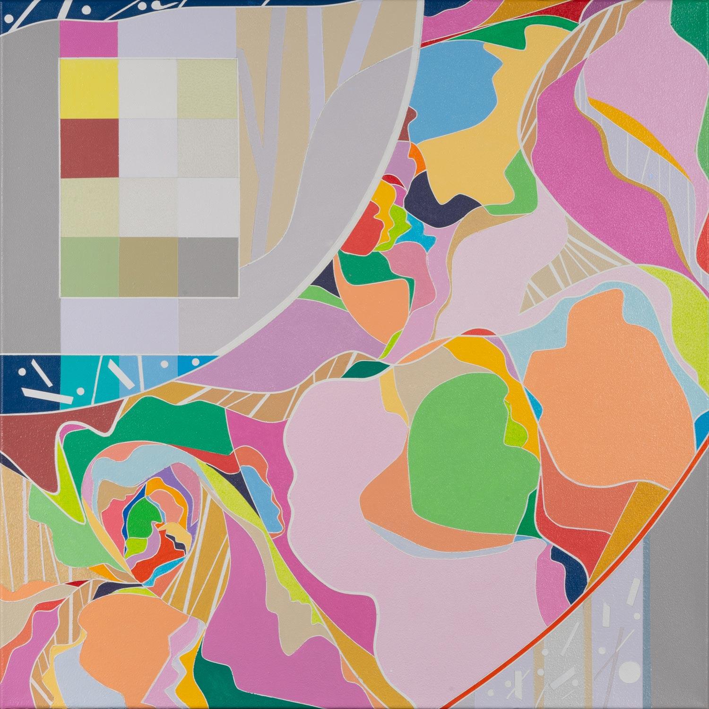 Ai-Wen-Wu-Kratz.Five-Sonnets.No.3.-24x24-in.Acrylic-on-canvas.2021